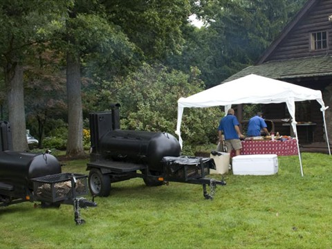 Mobile BBQ Pits